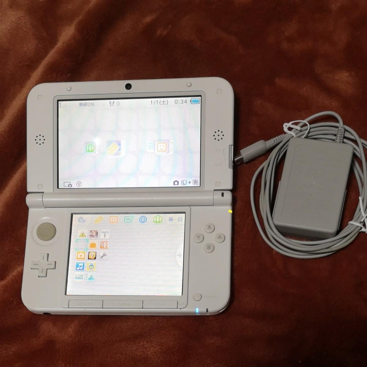 任天堂 ニンテンドー3DS LL Nintendo 3DS LL ミント×ホワイト