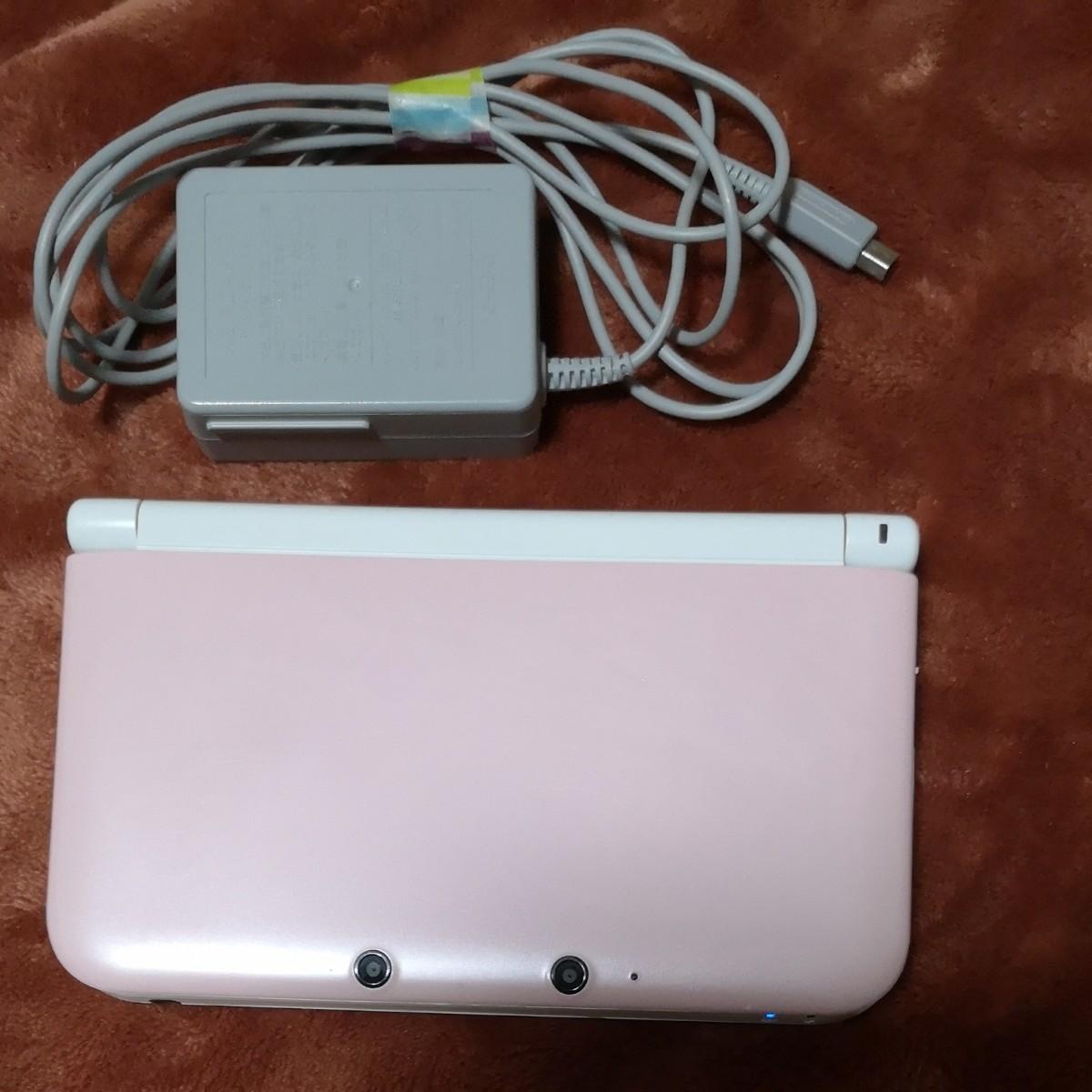 ニンテンドー3DS LL Nintendo 3DS LL ニンテンドー3DS LL ピンクホワイト本体