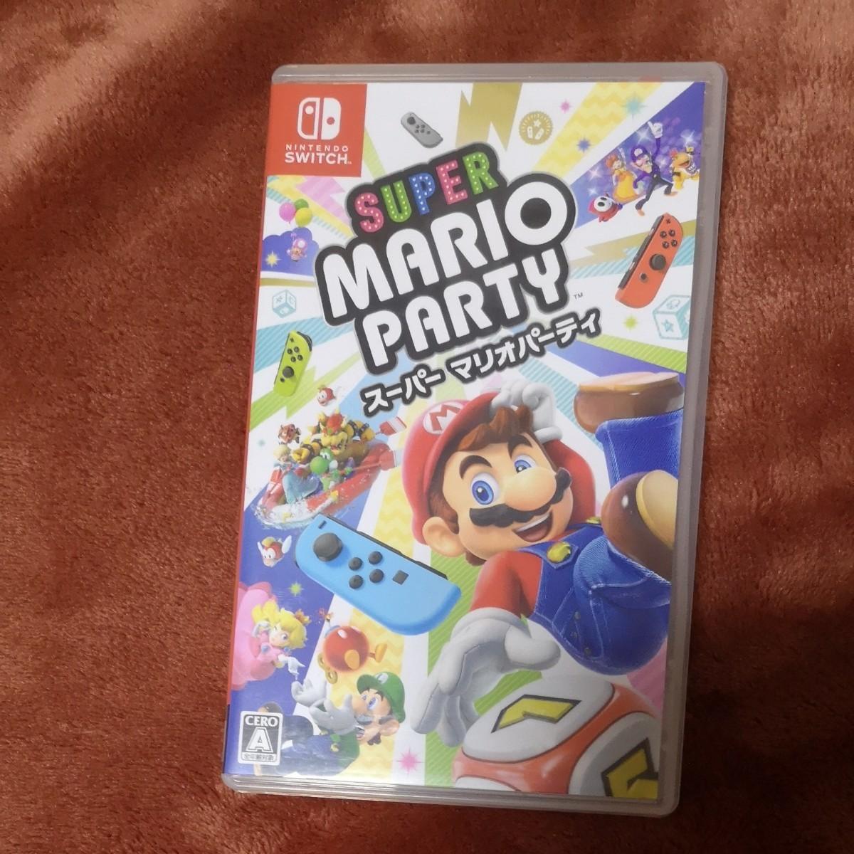 Nintendo Switch スーパーマリオパーティ 任天堂スイッチ ニンテンドースイッチソフト マリオパーティー