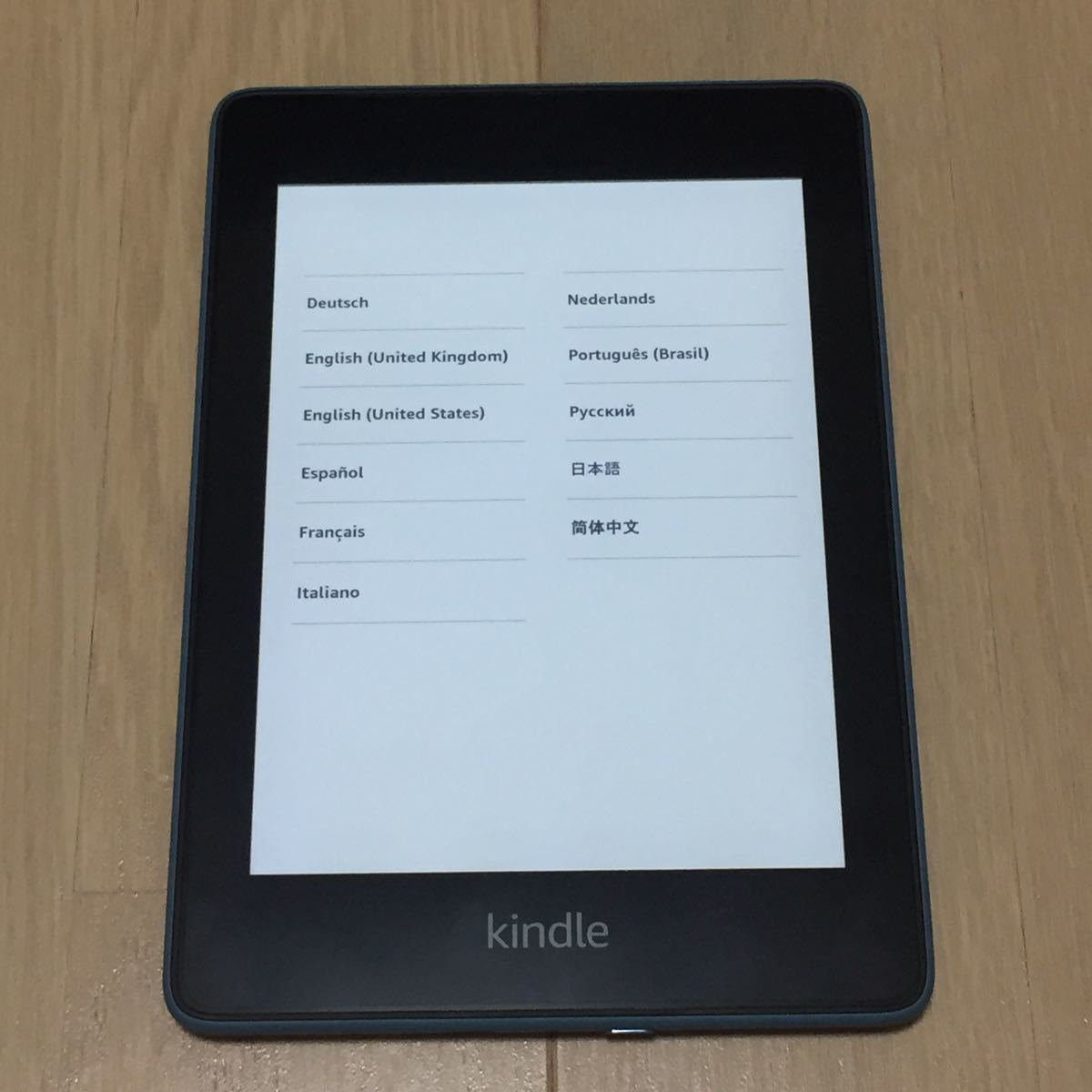 Kindle Paperwhite 防水機能搭載 wifi 32GB トワイライトブルー ※フィルム付き
