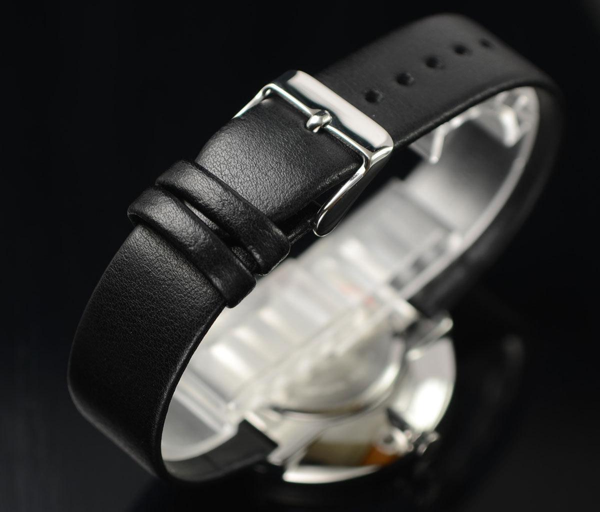 1円×3本セイコーLORUS無駄削ぎ落したシンプルで飽きの来ないデザイン逆輸入ブラック 腕時計 50m防水 新品メンズ日本未発売SEIKOローラス_画像8