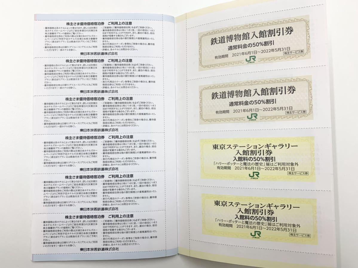 東日本旅客鉄道株式会社 株主サービス券 有効期限2021年6月1日~2022年5月31日まで 全券未使用 宿泊優待券 割引券_画像7