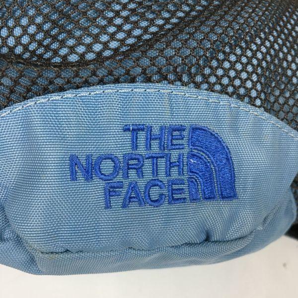 THE NORTH FACE/ノースフェイス ウエストポーチ/ボディーバッグ 水色 メッシュポケット 管NO.B19-29