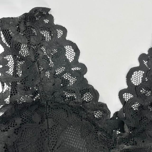 【最安値】優しい肌当たりで締め付けないナイトブラ 黒 育乳ブラ バストアップ 下垂れ防止 ノンワイヤー 補正ブラ ymda 272_画像9