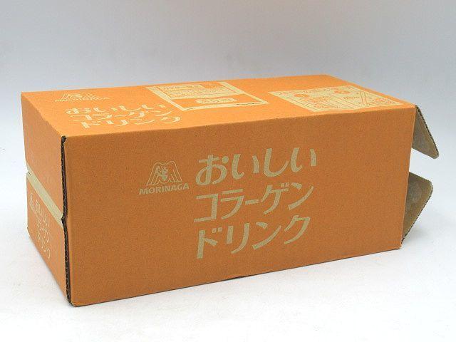 ◆森永製菓 おいしいコラーゲンドリンク 125ml×12本入 常温保存可能品 レモン味 コラーゲン ペプチド 賞味期限2022.01 潤い・関節・骨に◆_画像1