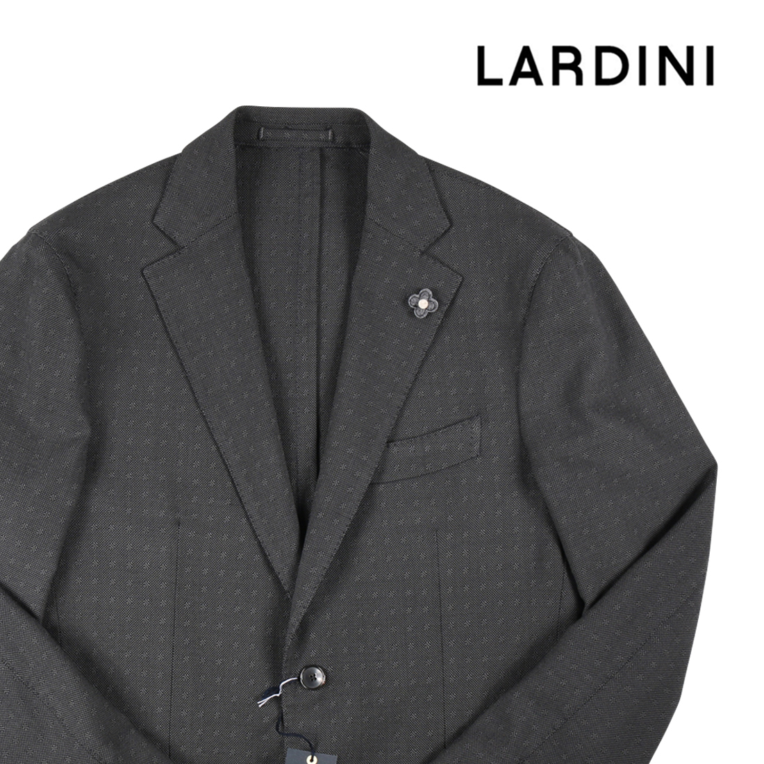 (超特価)LARDINI ジャケット EA393AV グレー 48 (AS19019)ラルディーニ