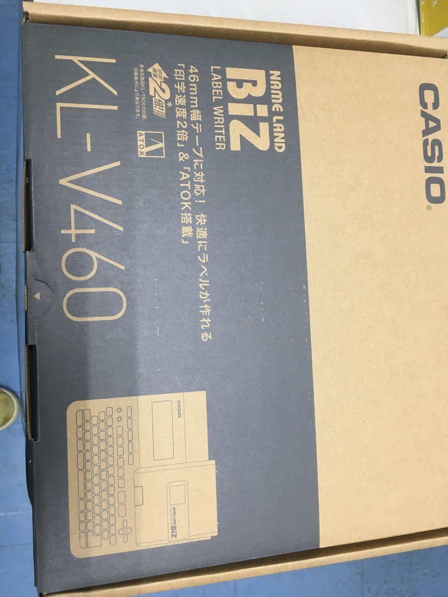 CASIO ラベルライター ネ-ムランド KL-V460 新品