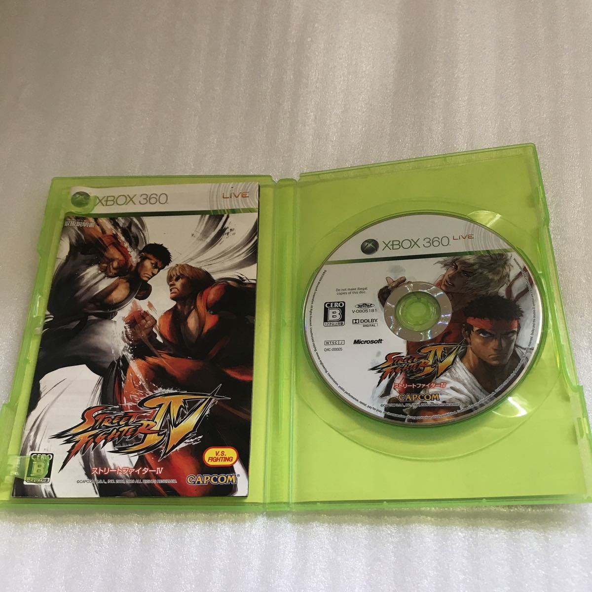 XBOX360 ソフト STREET FIGHTER Ⅳ ストリートファイター4