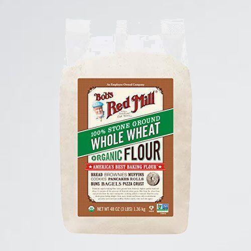 新品 未使用 オ-ガニック ボブズレッドミル 2-ML kg 全粒強力粉 ホ-ルウィ-ト フラワ- (有機全粒硬質赤春小麦粉) 1.36_画像1