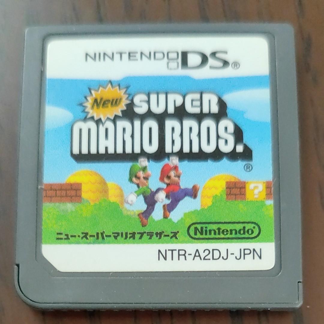 Newスーパーマリオブラザーズ DSソフト 任天堂DS