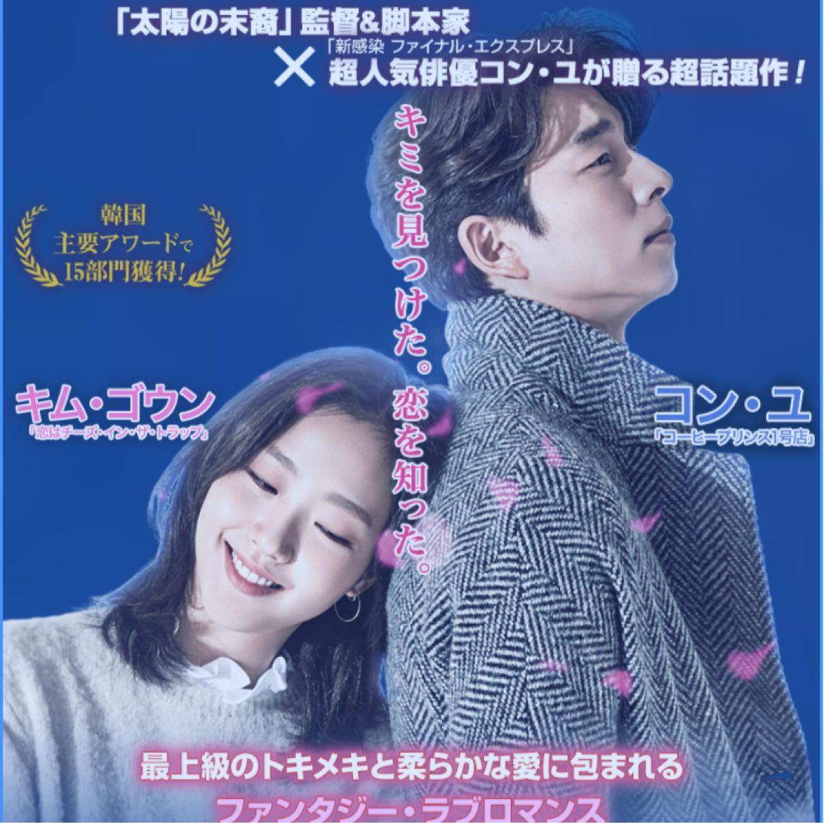 韓国ドラマ トッケビ DVD全話【レーベル印刷あり】