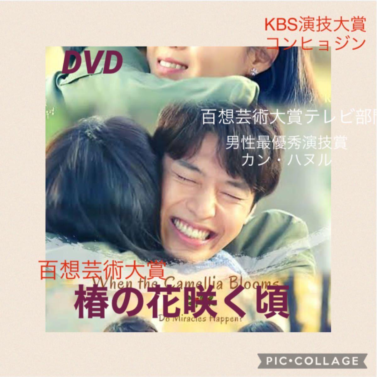 韓国ドラマ 椿の花咲く頃 DVD全話【レーベル印刷あり】8/10日ご購入分から16日より順次発送致します。ドラマ