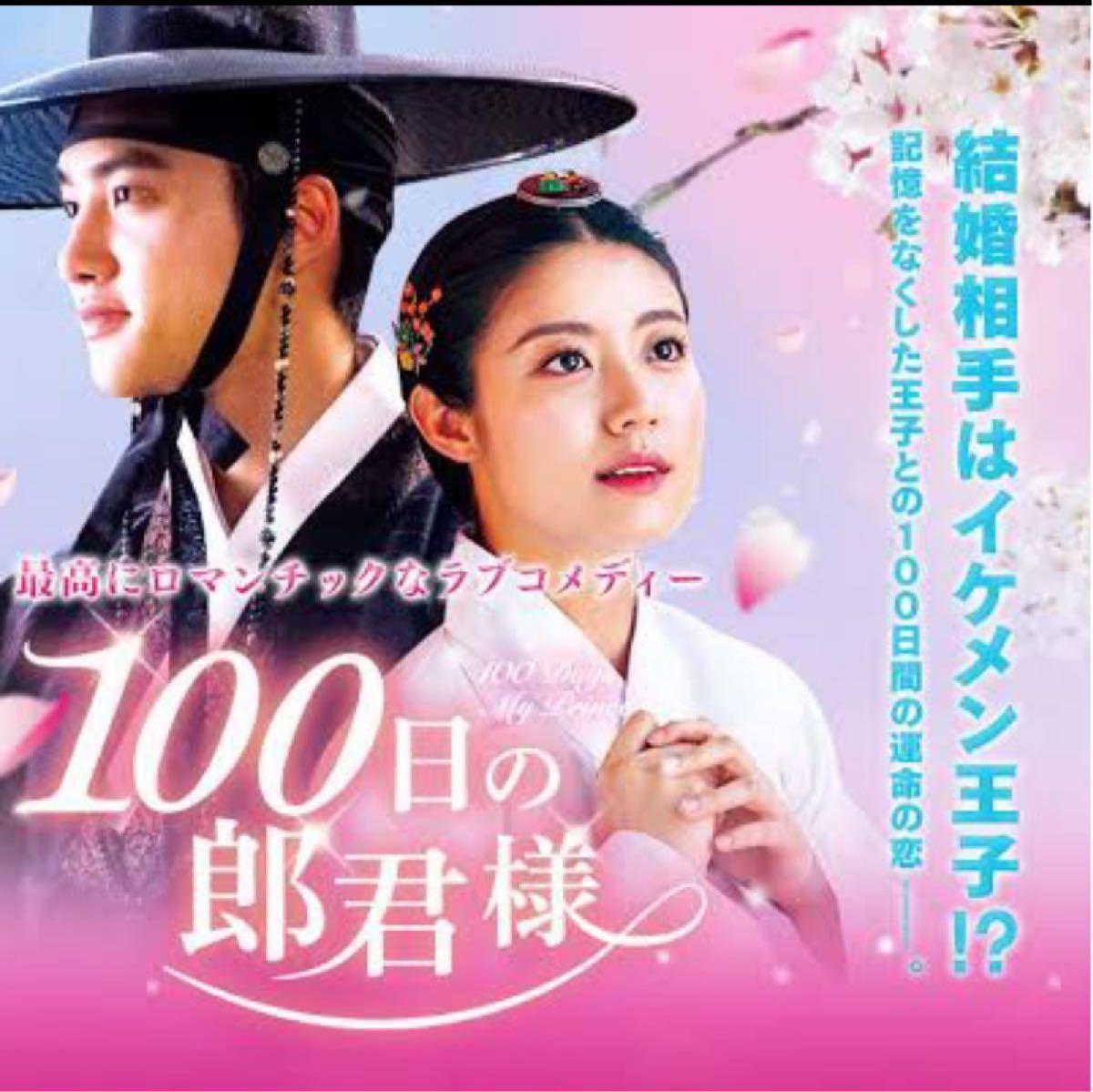 韓国ドラマ 100日の郎君様 DVD全話【レーベル印刷あり】