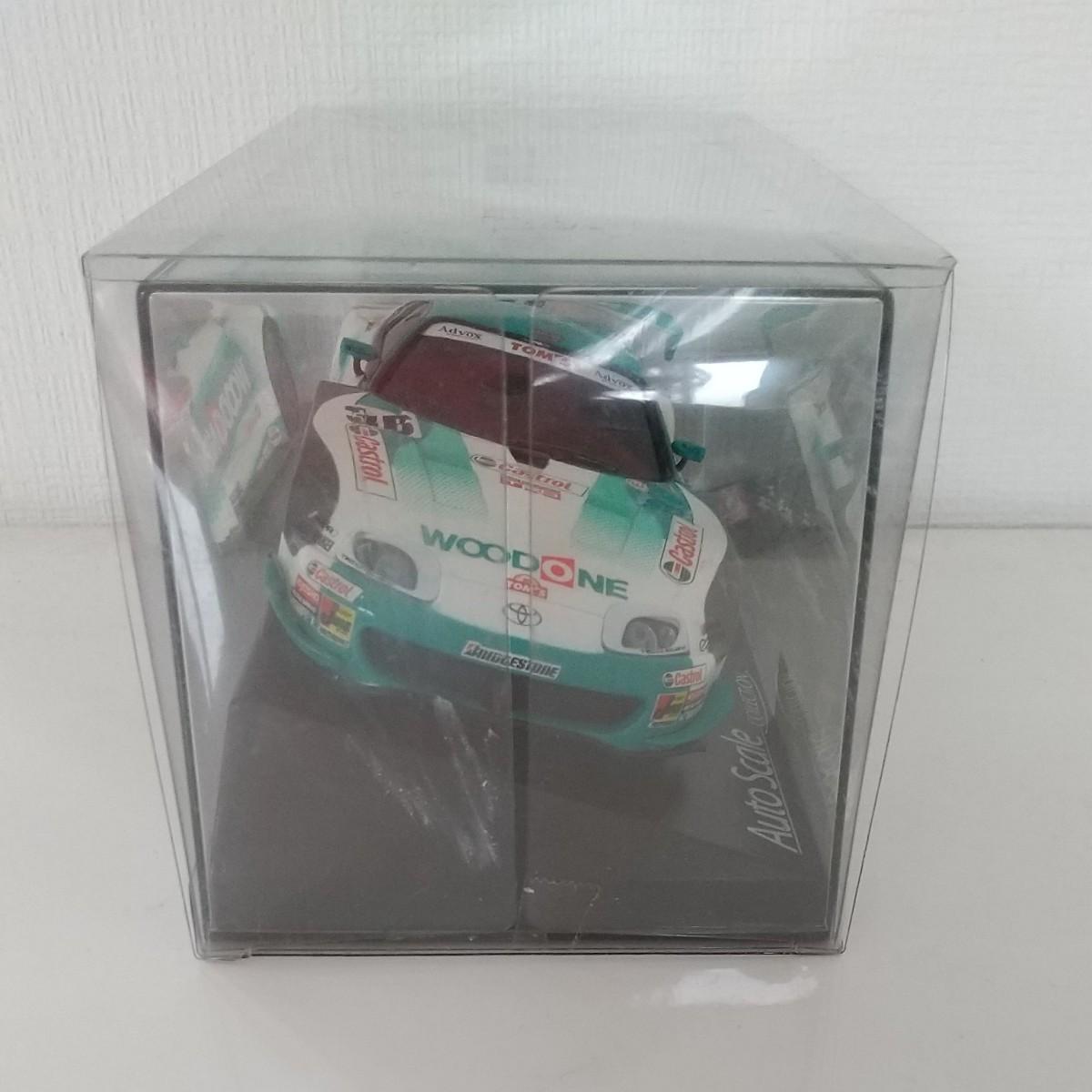 京商ミニッツ オートスケールコレクション WOODONEトムススープラ2004