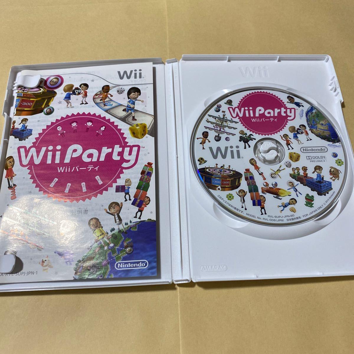 WiiパーティーとWiiスポーツ