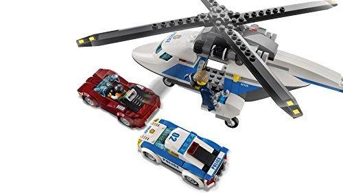 レゴ (LEGO) シティ ポリスヘリコプターとポリスカー 60138 ブロック おもちゃ 男の子 車_画像9