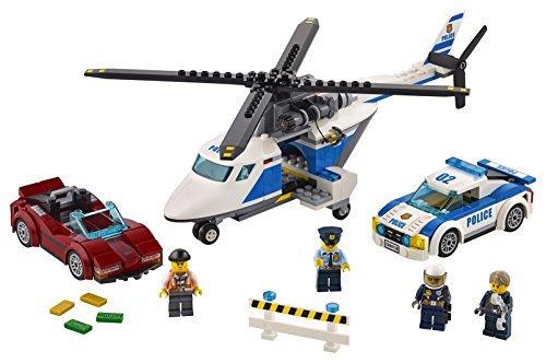 レゴ (LEGO) シティ ポリスヘリコプターとポリスカー 60138 ブロック おもちゃ 男の子 車_画像3