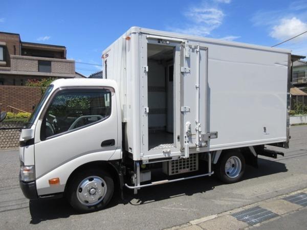「トヨエース 低温冷蔵冷凍車 2t 両スライドドア 355x170x181」の画像1