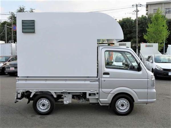 「キャリイ 660 KCエアコン・パワステ 3方開 移動販売車 キッチンカー」の画像3