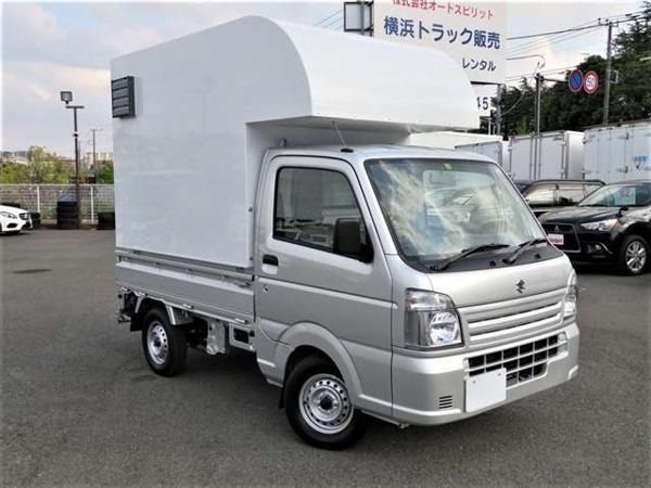 「キャリイ 660 KCエアコン・パワステ 3方開 移動販売車 キッチンカー」の画像2
