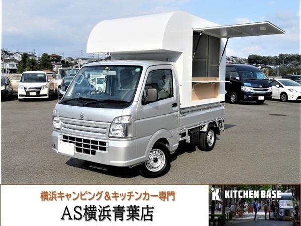 「キャリイ 660 KCエアコン・パワステ 3方開 移動販売車 キッチンカー」の画像1