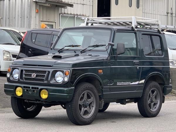 「ジムニー 660 ランドベンチャー 4WD 車検2年含 エンジンクラッチOH 禁煙」の画像1