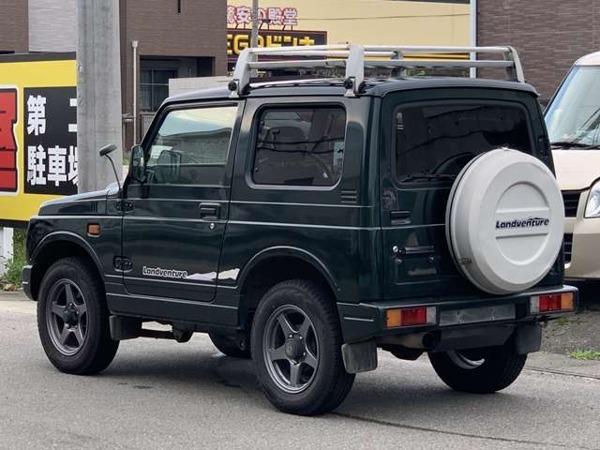 「ジムニー 660 ランドベンチャー 4WD 車検2年含 エンジンクラッチOH 禁煙」の画像3