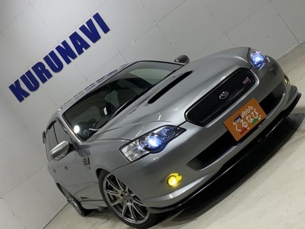「レガシィツーリングワゴン 2.0 チューンドバイSTI 4WD ターボ4WDナビTV ETC HIDヘッドライト」の画像1