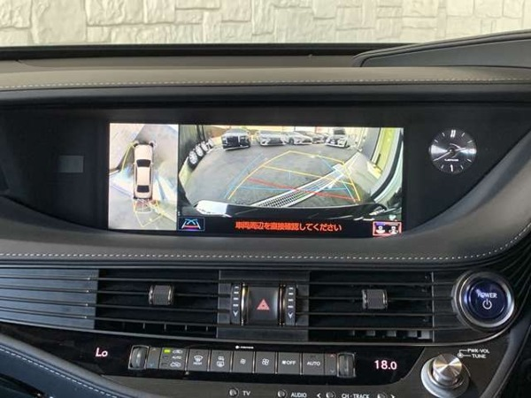 「LS 500h エグゼクティブ 4WD マクレビ/Rエンターテイメント/360度カメラ」の画像3