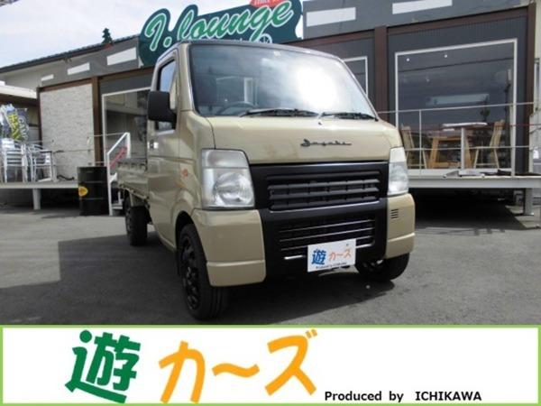 「キャリイ 660 KU エアコン・パワステ 3方開 遊カーズカスタムスタイル 軽トラ」の画像1