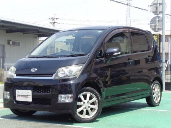 「ムーヴ 660 カスタム X 社外TVナビ インテリキー HID 買取車」の画像1