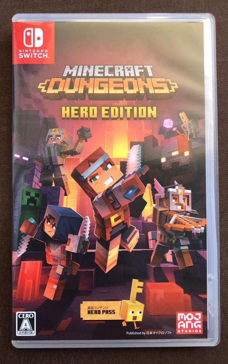 【Switch】 Minecraft Dungeons Hero Edition マインクラフトダンジョンズ ヒーローエディション