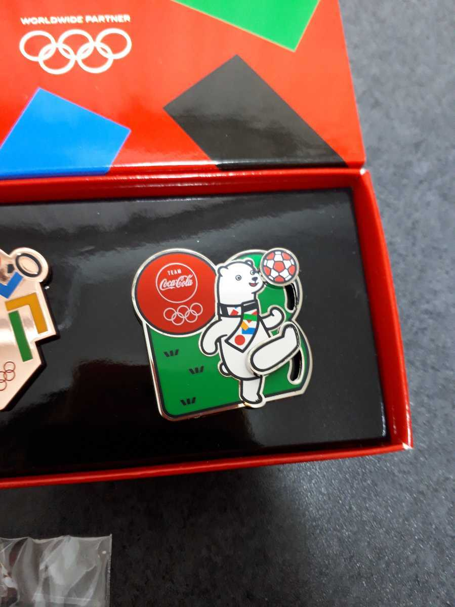 東京オリンピック ピンバッチ ピンバッジ 2020 聖火リレー コカ・コーラ トヨタ サッカー ピンズ ミライトワ 未使用