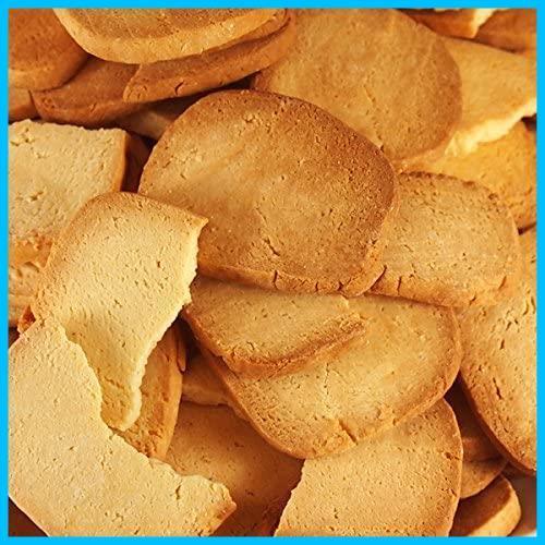 天然生活 【訳あり】固焼き☆豆乳おからクッキープレーン約100枚1kg_画像1