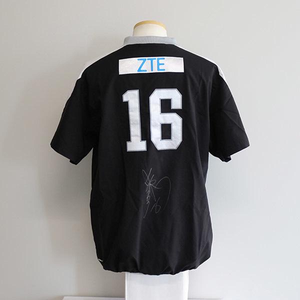 [チャリティ]福岡ソフトバンクホークス 東浜巨投手 ウォームアップシャツ(ビジター半袖)_画像1