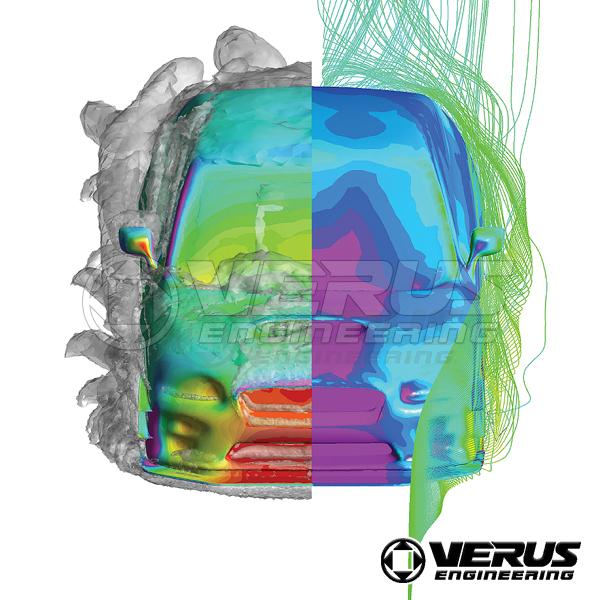 VERUS ENGINEERING(VELOX):A0110A:SUBARU WRX STI/S4(VAB/VAG):カーボンダイブプレーンキット(カナード):1段シングルタイプ1セット_画像5