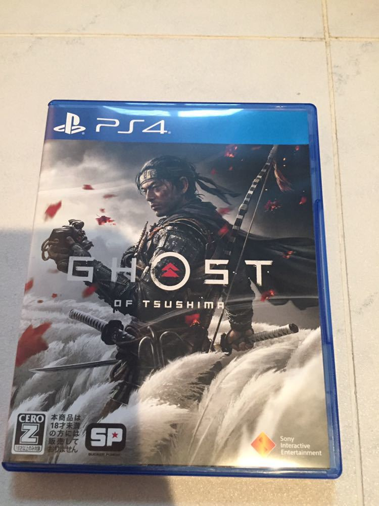 PS4ソフト GHOST OF TSUSHIMA_画像1
