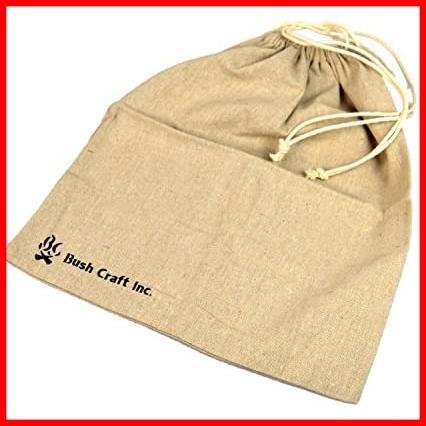 【厳選商品】 麻のスタッフサック(4L) Bush 10-02-orig-0004 Craft(ブッシュクラフト)_画像2