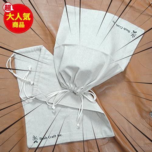 【厳選商品】 麻のスタッフサック(4L) Bush 10-02-orig-0004 Craft(ブッシュクラフト)_画像5