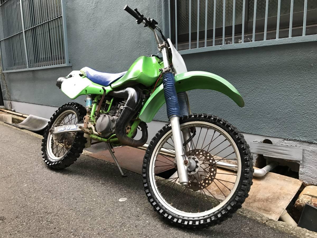 「☆ Kawasaki KDX200 レーサー DX200D 実動 【難あり】 ※書類なし 神戸 ☆」の画像1