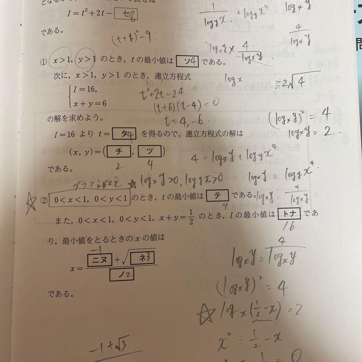 共通テスト 直前対策問題集 2021 数学2B 河合出版      定価 1000円