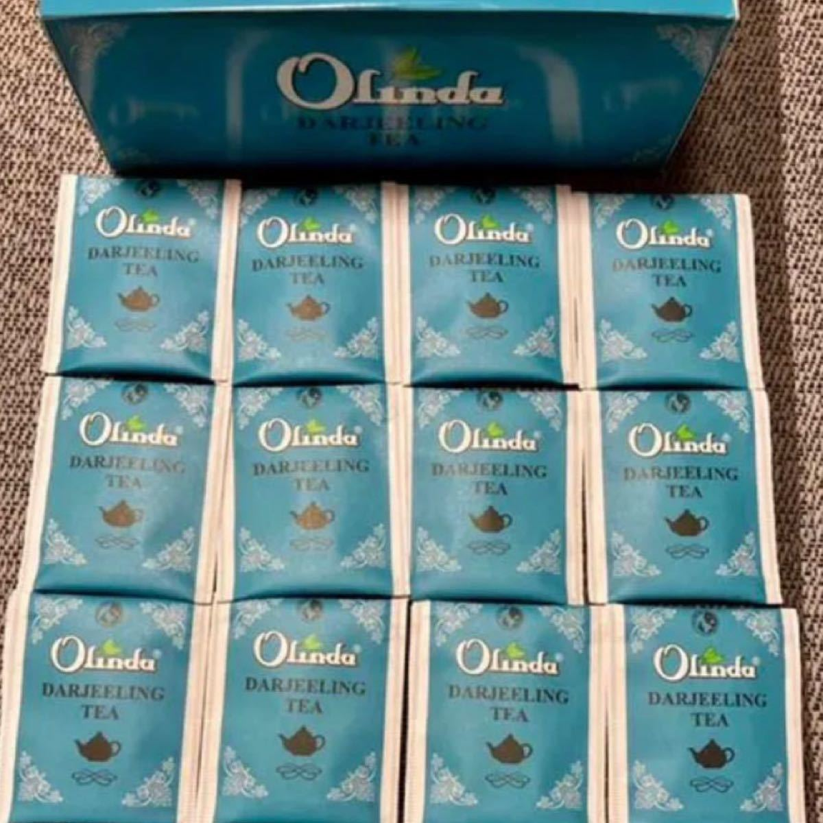 お茶 インド紅茶 オリンダ ダージリンティー 2gx12袋お試しセット