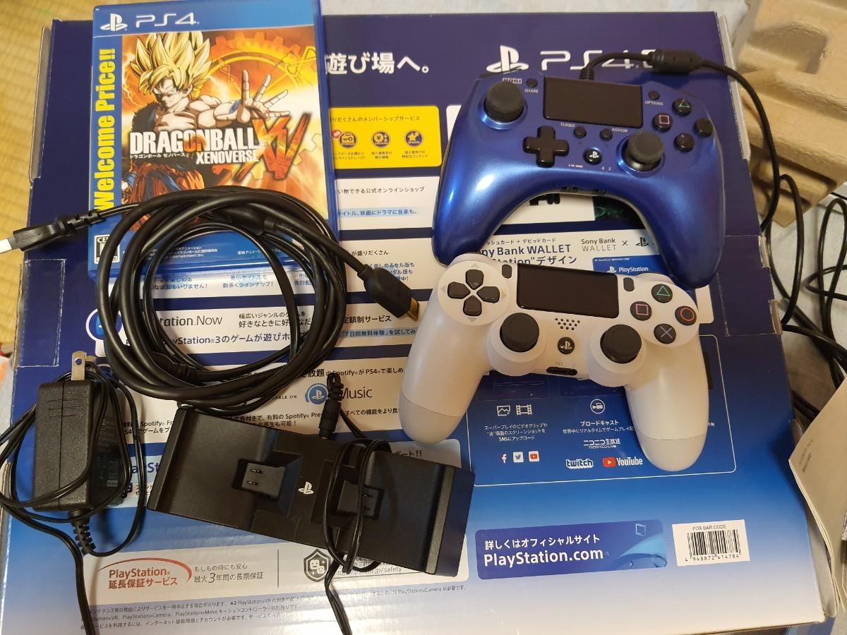 PS4 Pro CUH-7200B B02グレイシャーホワイト。外箱有 PlayStation4