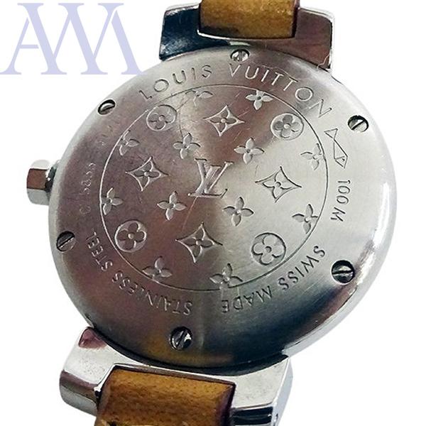 【LOUIS VUITTON ルイヴィトン】タンブール Q1211 クォーツ レディース 腕時計【美品中古】_画像2