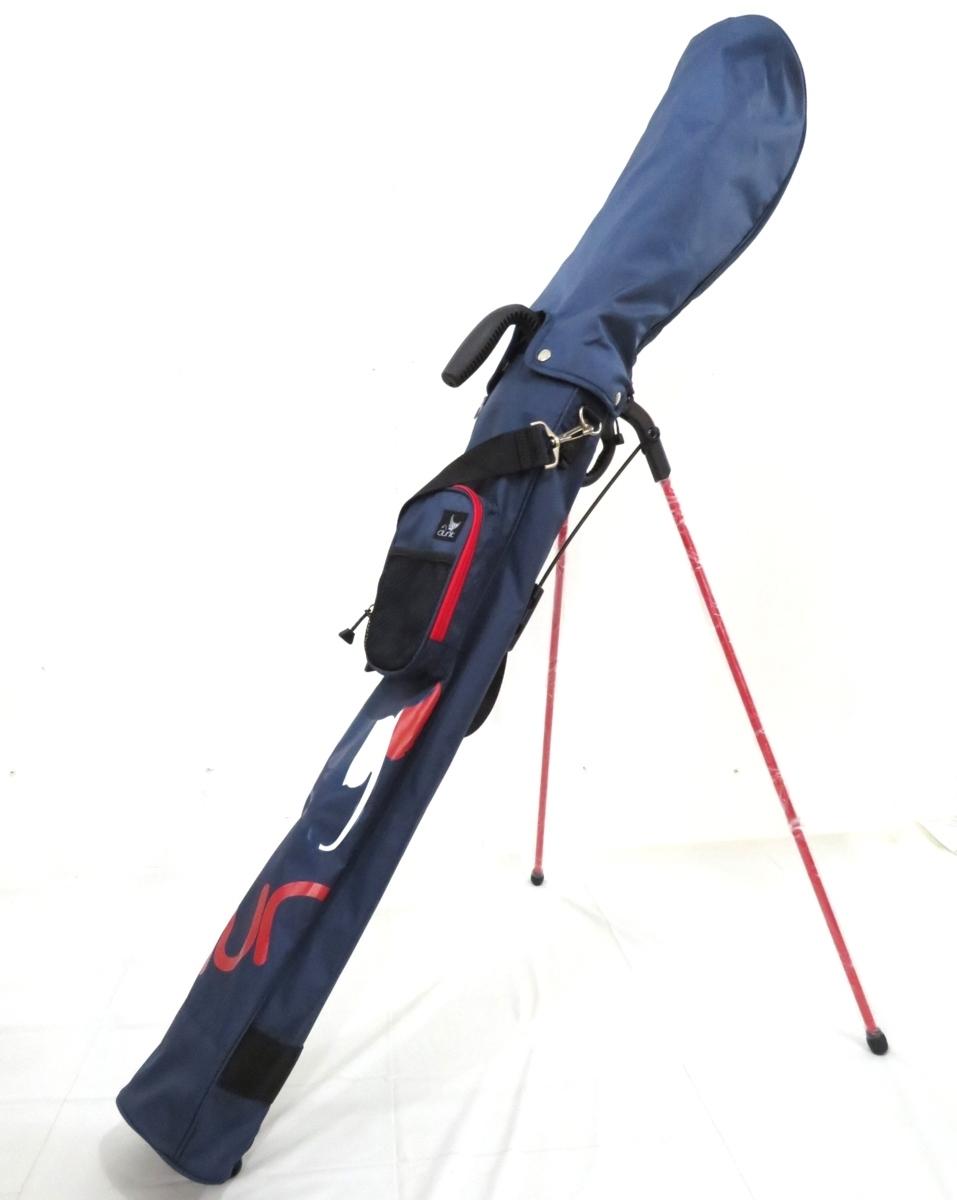 正規品 clunk クランク セルフゴルフスタンド バッグ CL51NC38 ネイビー系 スポーツバッグ ハンドル ショルダー