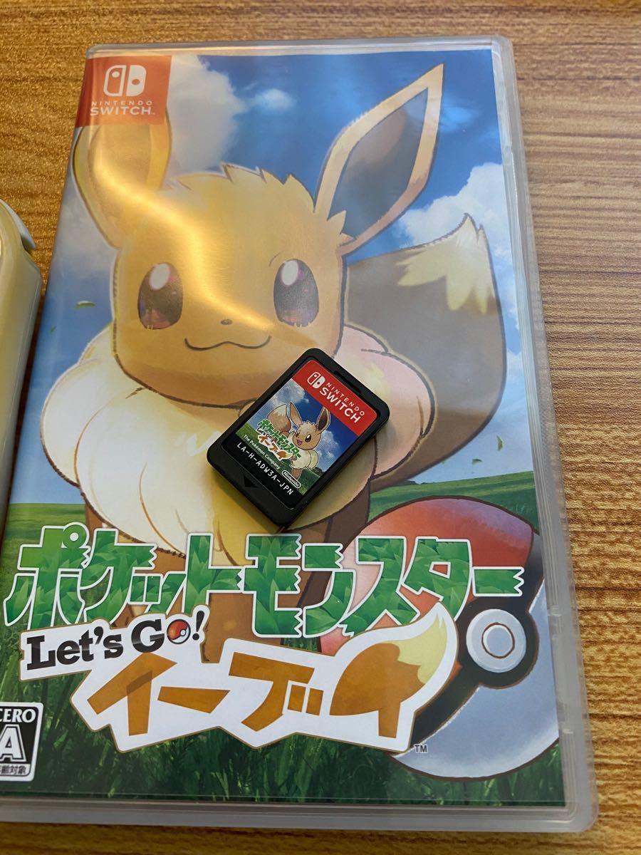 【美品】Nintendo Switch lite+ポケモンlet's goイーブイセット