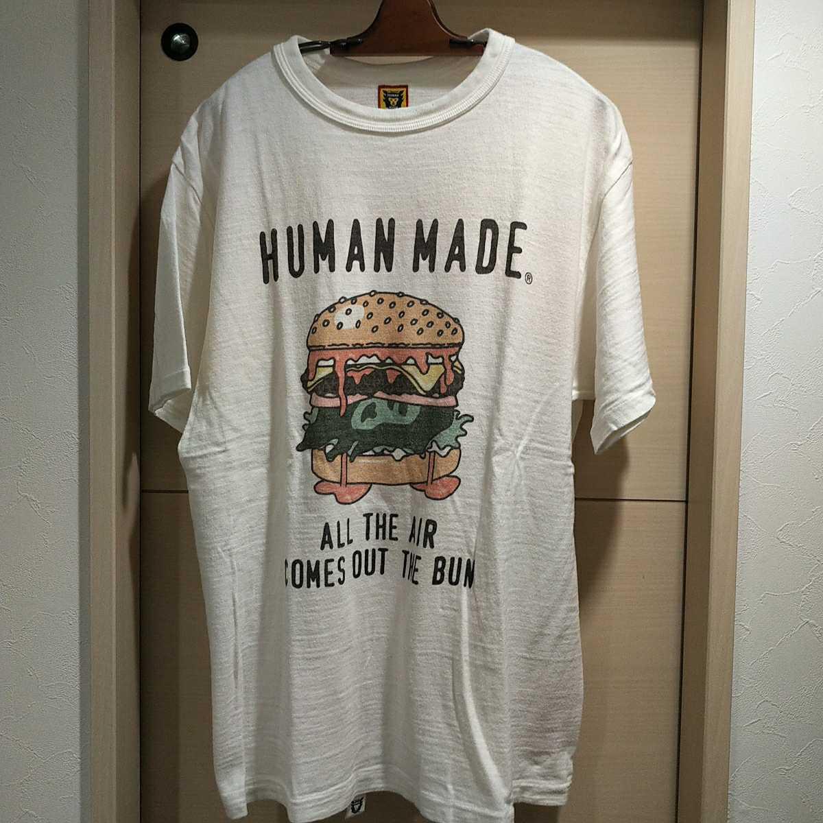 HUMAN MADE ハンバーガーTシャツ