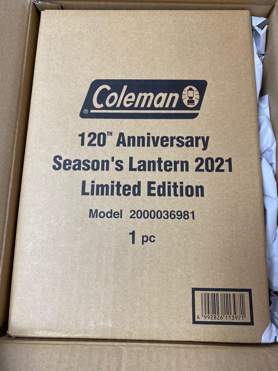 新品 コールマン 120周年 2021 シーズンズランタン Coleman 120th 新品