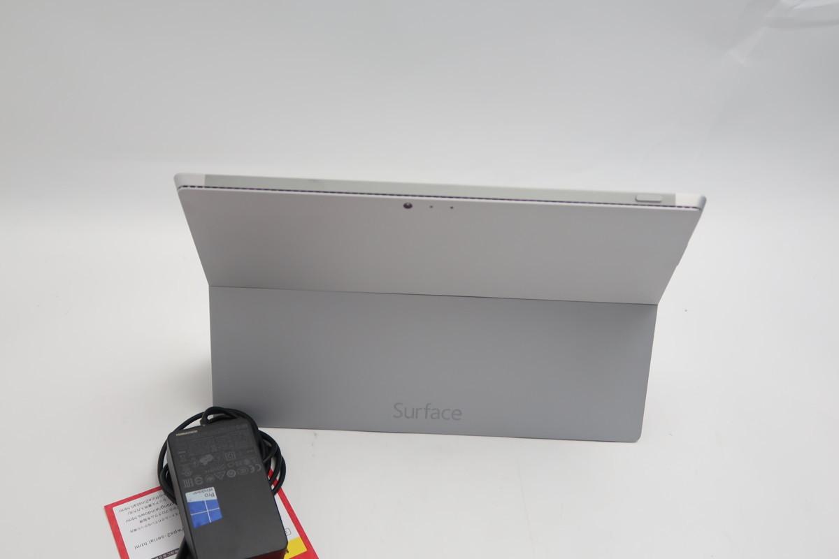 07-2804】 良品】タブレット Microsoft SURFACE Pro3 1631 Core i3-4020Y 1.50GHz 4GB SSD 64GB 12型QHD Windows 10 カメラ搭載_画像8