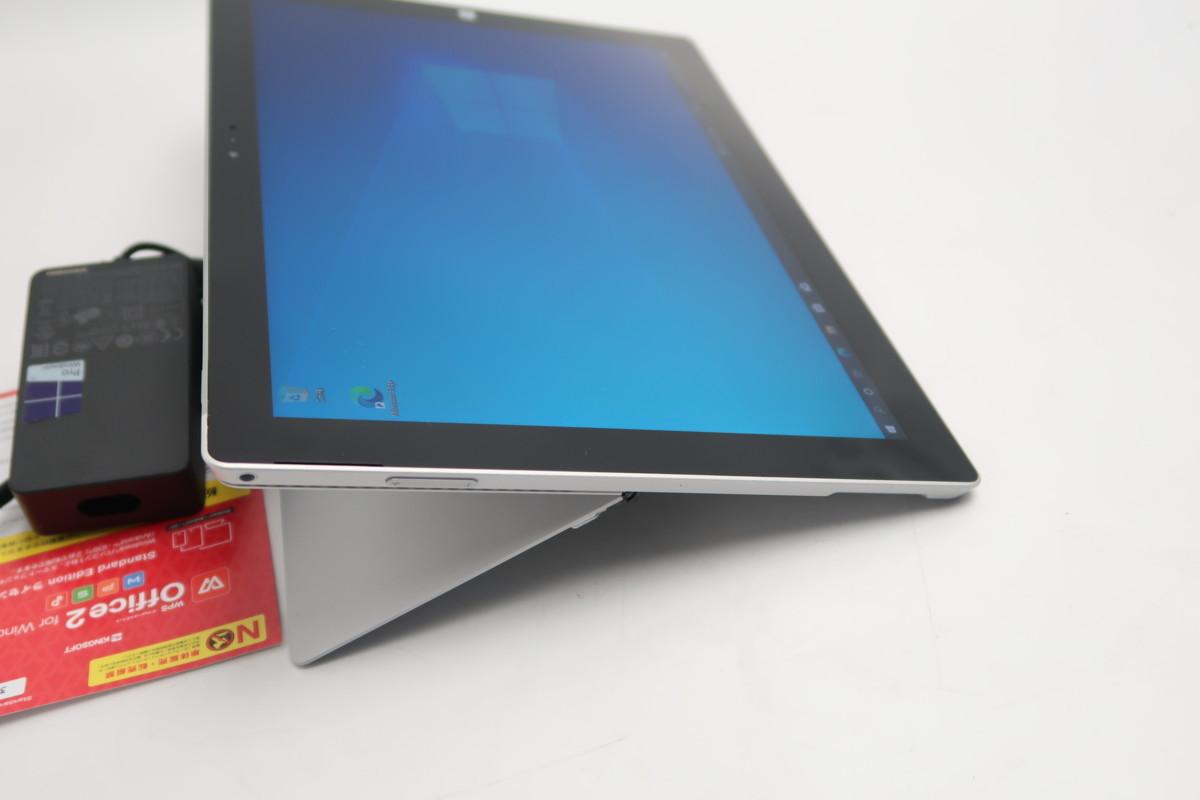 07-2804】 良品】タブレット Microsoft SURFACE Pro3 1631 Core i3-4020Y 1.50GHz 4GB SSD 64GB 12型QHD Windows 10 カメラ搭載_画像4